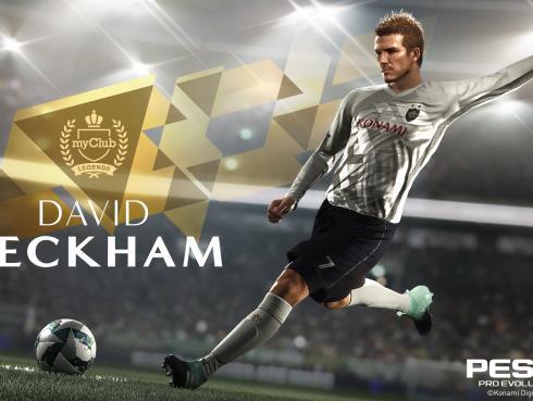 PES 2018: KONAMI firma acuerdo con David Beckham