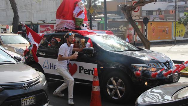 Aficionado de Nueva Zelanda sorprendido con la pasión del hincha peruano