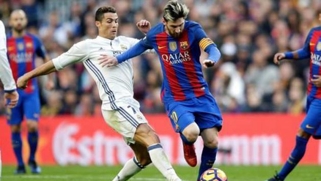 Liga de España: Real Madrid empata 1-1 con Barcelona (Parcial)