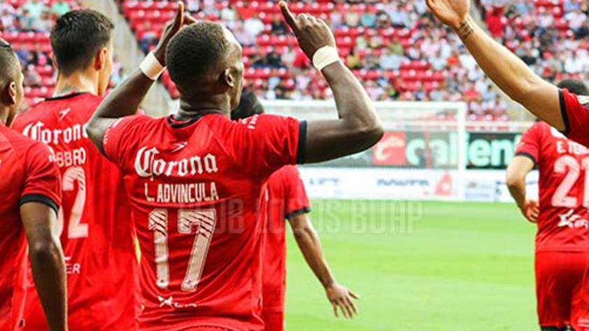 Lobos BUAP venció a dominio a las Chivas con gol de Luis Advíncula