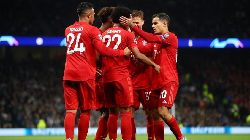 ¡Qué Bávaros!: Bayern Munich goleó 7 a 2 al Tottenham como visitante por la segunda jornada del grupo B de la Champions League