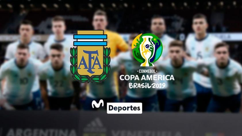 CONFIRMADO: Argentina presentó su lista oficial para la Copa América 2019