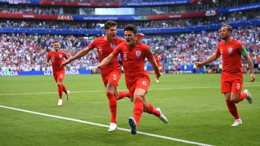 Inglaterra vence 2-0 a Suecia y logra clasificar a la semifinal de Rusia 2018