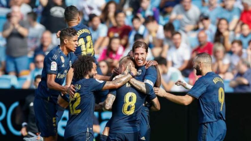 Con golazo de Kroos: Real Madrid ganó por 3-1 al Celtic de Vigo en la fecha 1 de La Liga