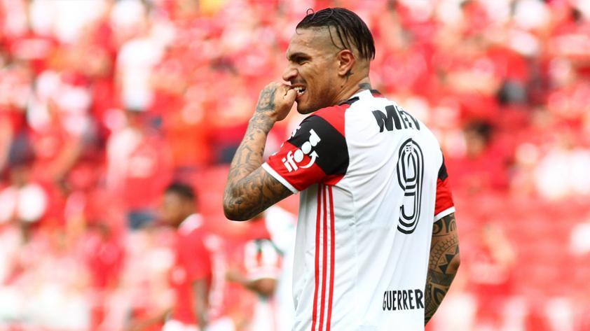 Paolo Guerrero descartado para el partido ante el Fluminense de este miércoles