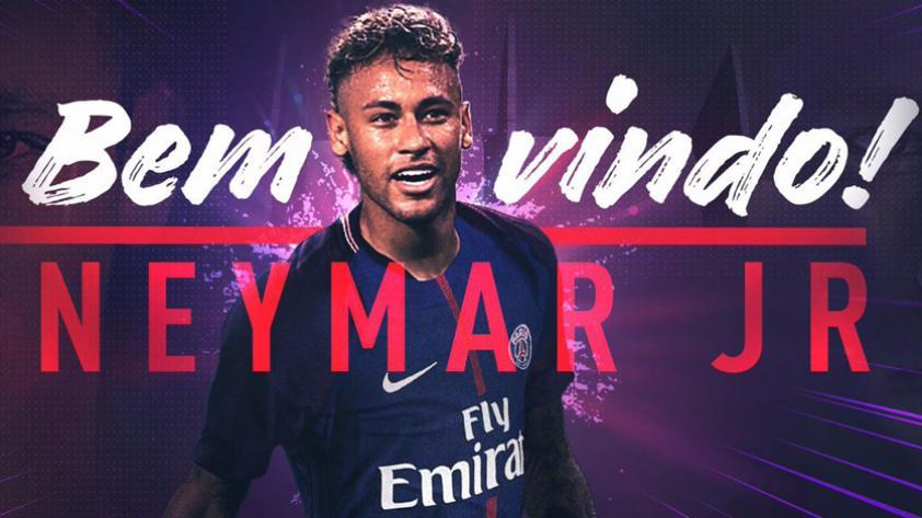 OFICIAL: Neymar es nuevo jugador del PSG