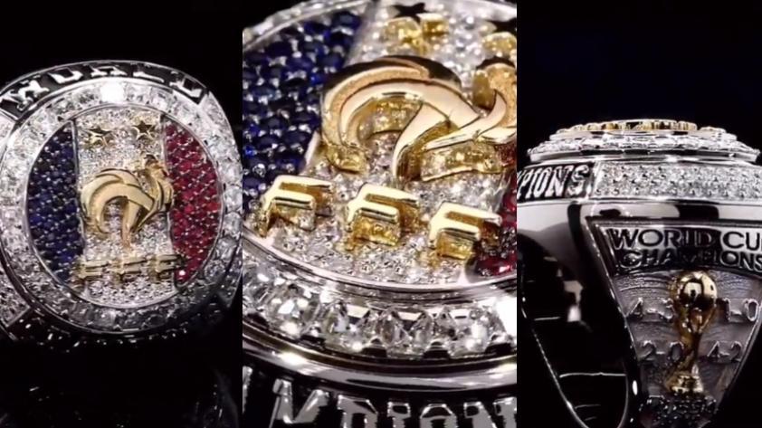 Una verdadera obra de arte: el espectacular anillo que Paul Pogba regaló a sus compañeros por ganar el Mundial Rusia 2018