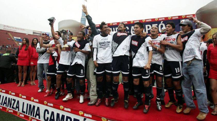 ¿Cuándo ganó Alianza Lima por última vez el Torneo Apertura?