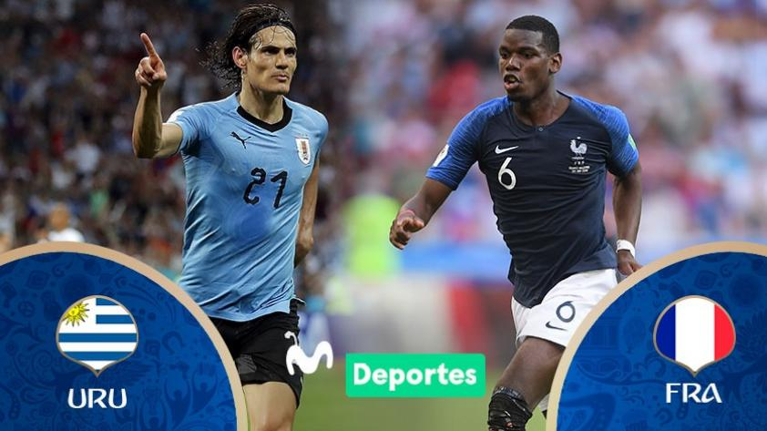 Uruguay vs. Francia: día, horarios y canales de partido por los cuartos de final de Rusia 2018