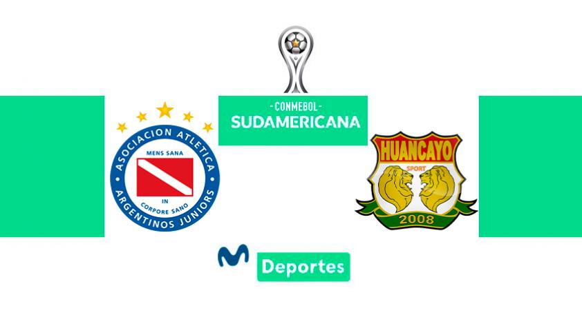 Argentinos Juniors vs Sport Huancayo: hora, fecha y canal por la Copa Sudamericana 2020
