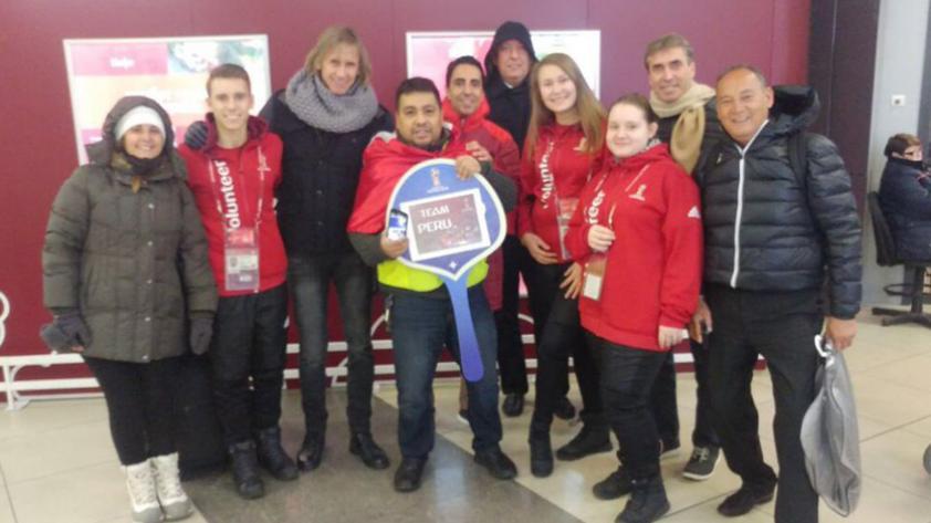 La delegación peruana llegó a Rusia para el sorteo de grupos