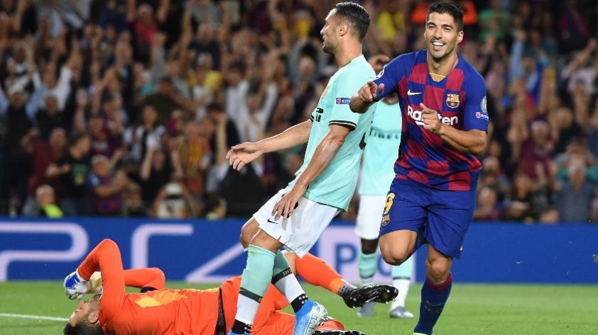 Tres puntos de equilibrio: Barcelona ganó 2-1 a Inter de Milán por la Champions League