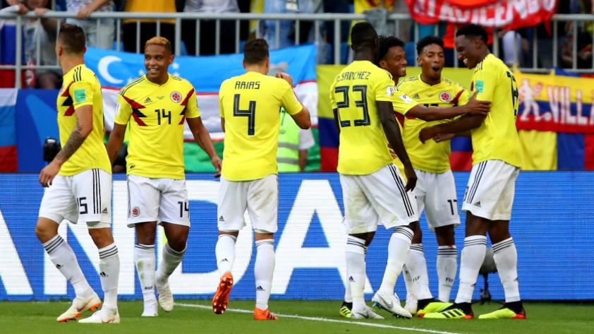Colombia le ganó 1-0 a Senegal y clasifica a octavos de final de Rusia 2018
