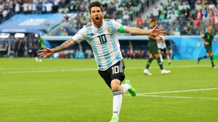 """Messi: """"Es maravilloso haberle ganado de esta manera"""""""