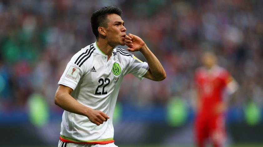 México vence a Rusia y avanza a la semifinal de la Confederaciones