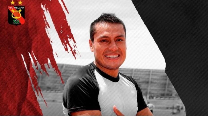 Melgar anunció la llegada de un nuevo refuerzo: Omar Tejada