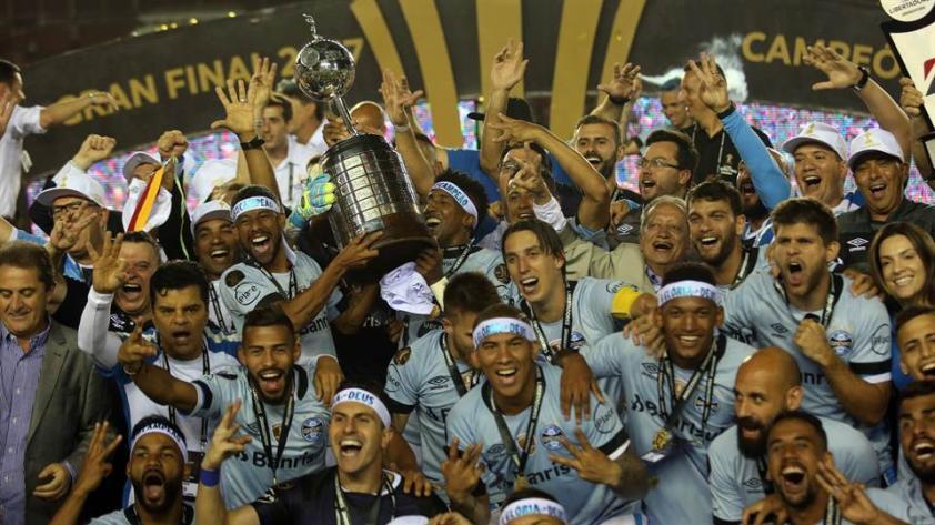¡Gremio es el campeón de la Copa Libertadores 2017!