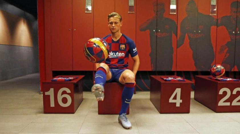 Frenkie de Jong afirmó que el Barcelona es el máximo logro para su trayectoria como futbolista