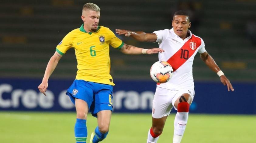 Mal inicio: La Selección Peruana Sub 23 perdió 1 a 0 ante Brasil en el Preolímpico