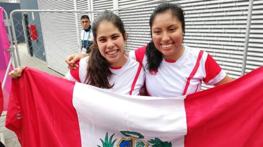 ¡Un bronce más para Perú! Nathaly Paredes y Mía Rodríguez ganaron medalla en frontenis femenino