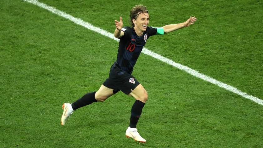"""Modric: """"Estuvimos mucho mejor que Argentina"""""""