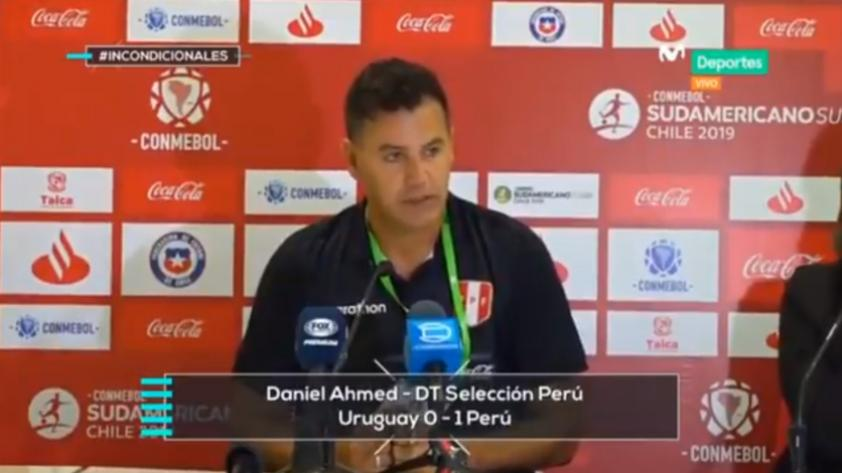 """Daniel Ahmed: """"El mayor éxito es que a cada chico peruano le den oportunidades de pertenecer a la Selección"""" (VÍDEO)"""