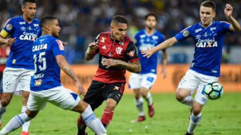 Con goles de Guerrero y Trauco, Flamengo cayó ante Cruzeiro en la final de la Copa de Brasil