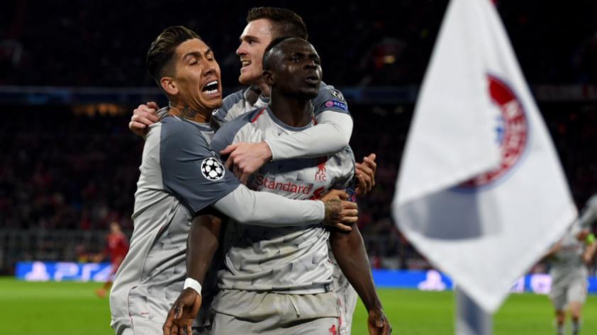 ¡Al 'rojo' vivo! Liverpool derrotó 3-1 al Bayern Múnich por los octavos de final de la Champions League