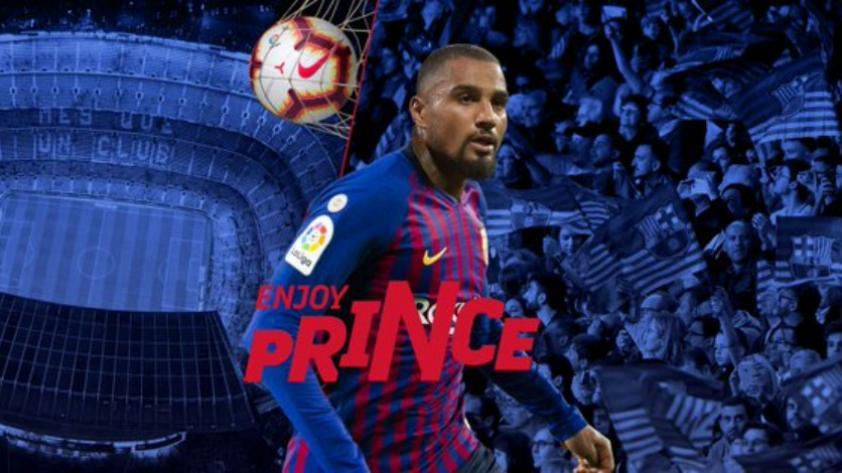 ¡OFICIAL! Barcelona anuncia el fichaje de Kevin Prince Boateng