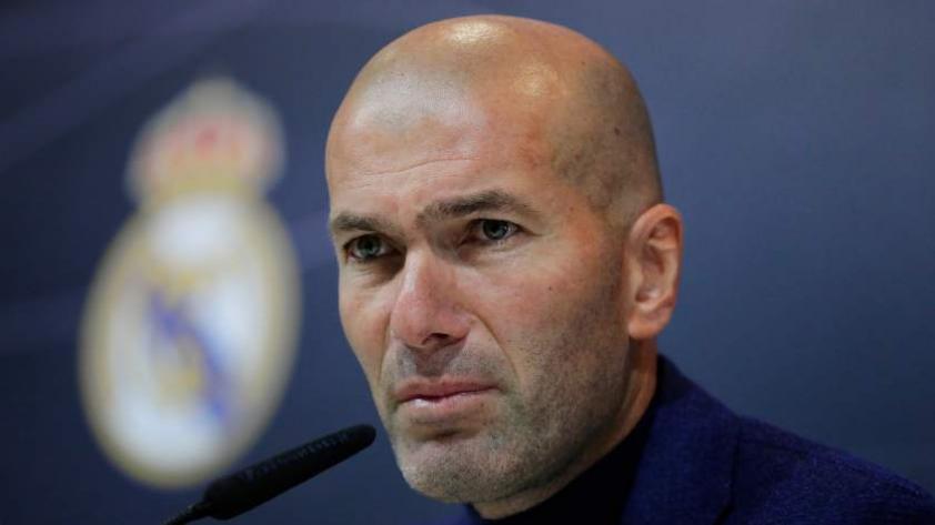 """Zidane: """"Estoy descansando y no sé lo que voy hacer"""""""