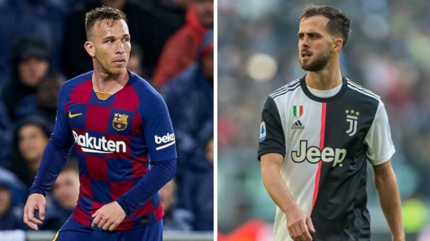 Barcelona y Juventus llegan a un acuerdo de intercambio entre Arthur por Pjanic