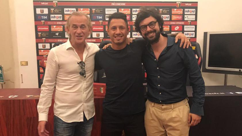 Lapadula es nuevo jugador del Genoa