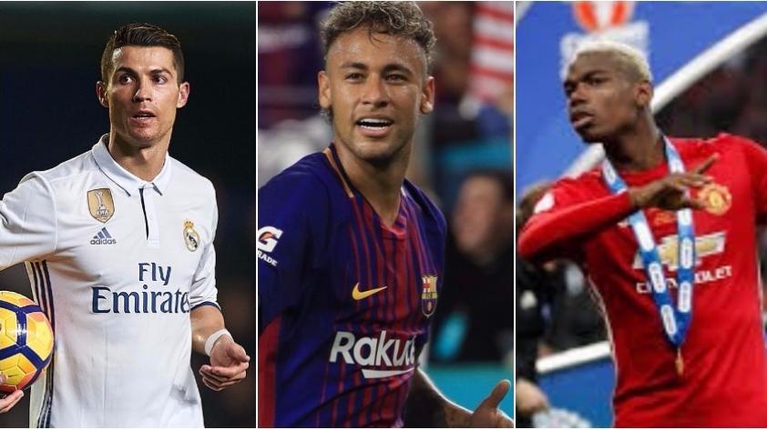 Neymar es el más caro de todos: conoce los 10 fichajes más costosos de la historia del fútbol