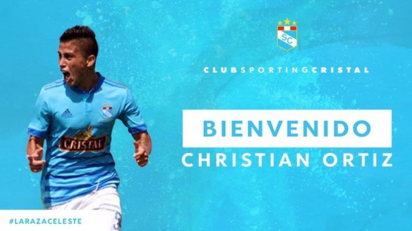 ¡Regresó el 'Titi'! Sporting Cristal confirmó el fichaje de Christian Ortiz