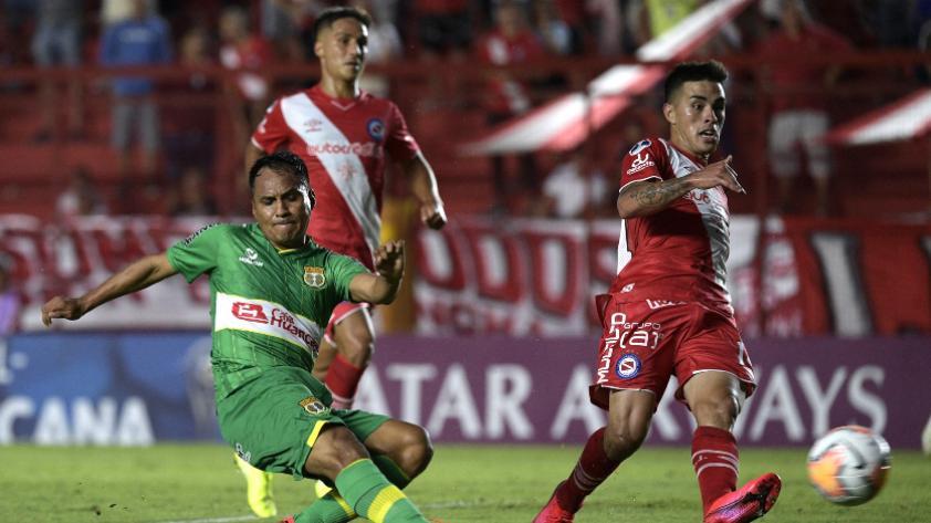 Sport Huancayo empató 1-1 con Argentinos Juniors por la Copa Sudamericana
