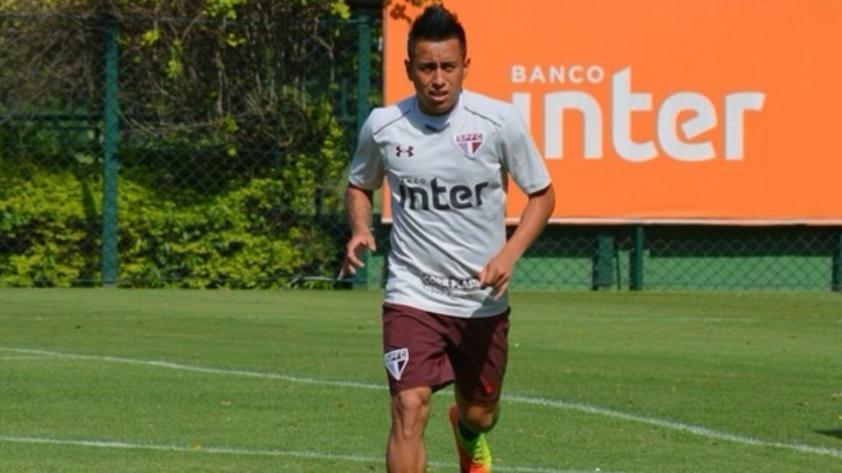 Christian Cueva fue multado tras su integración a Sao Paulo este 2018