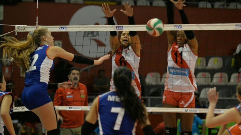 Perú va por su segundo triufo ante Cuba en el Panamericano de Vóley