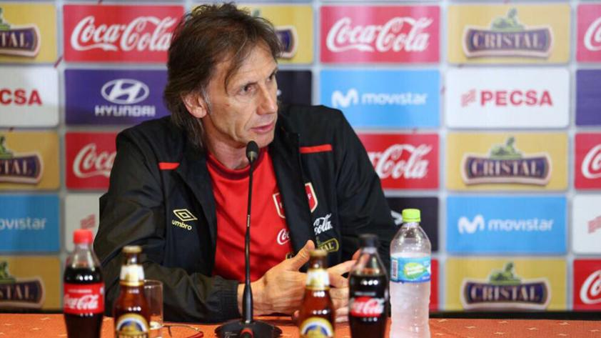 """Ricardo Gareca: """"Tenemos una manera de jugar que nos permite conseguir un buen resultado"""""""