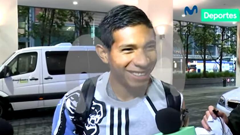 (VIDEO) Edison Flores 'trollea' a Pedro García en su llegada a Nueva Zelanda