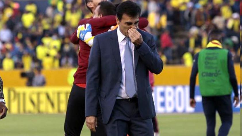 Clasificatorias: Gustavo Quinteros no es más técnico de Ecuador