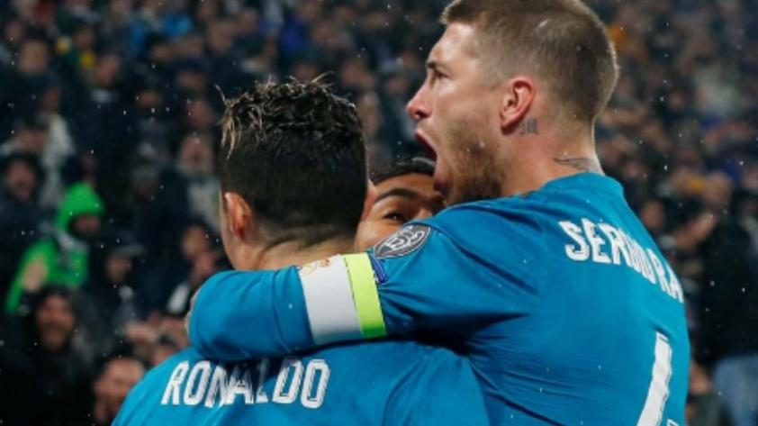 La emotiva despedida de Sergio Ramos para Cristiano Ronaldo