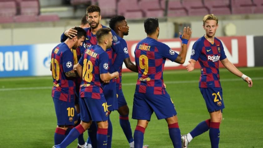 A cuartos de final: Barcelona venció por 3-1 al Nápoli en octavos de la Champions League
