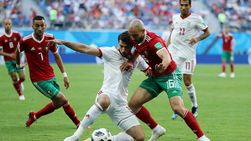 Irán le ganó 1-0 a Marruecos por el primer partido del grupo B de Rusia 2018