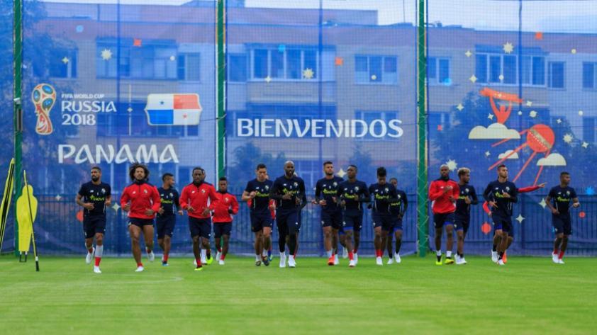 La selección de Panamá ya se encuentra entrenando en Rusia