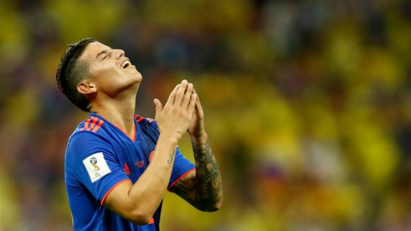 """James Rodríguez: """"Gracias por el apoyo. Volveré más fuerte"""""""