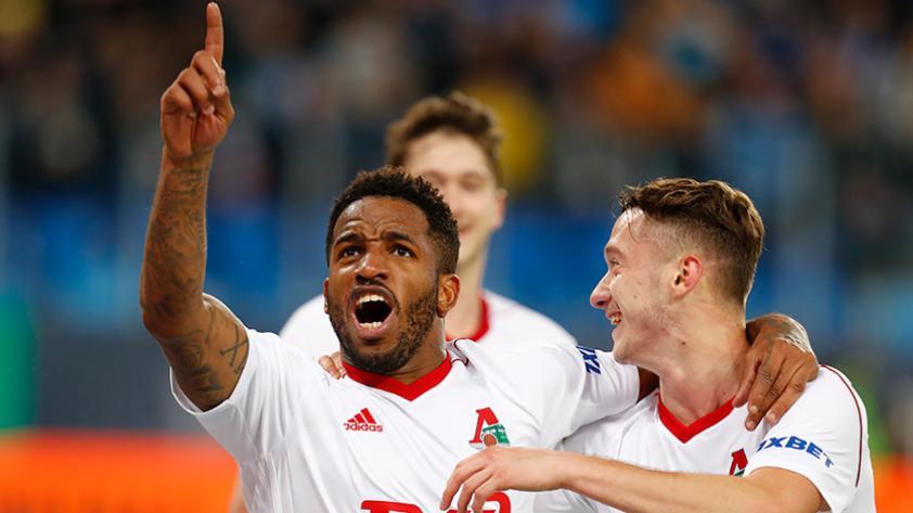 (VIDEO) Jefferson Farfán le dio el triunfo al Lokomotiv ante el SKA Khabarovsk