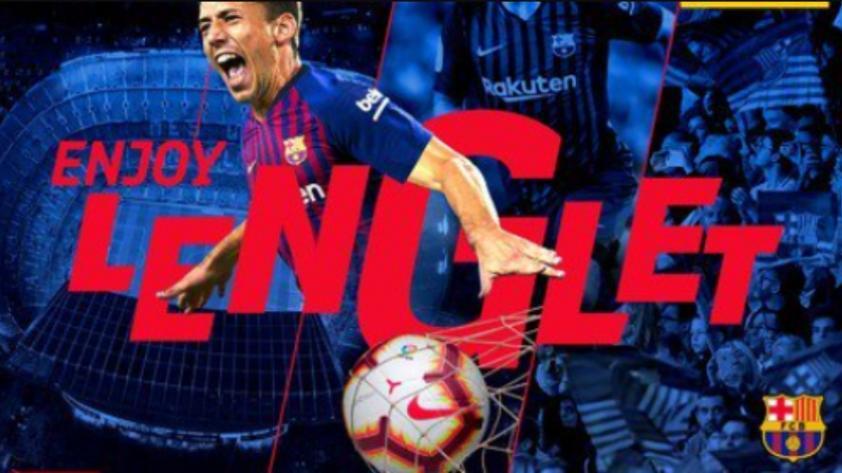 Clément Lenglet es el nuevo fichaje del FC Barcelona