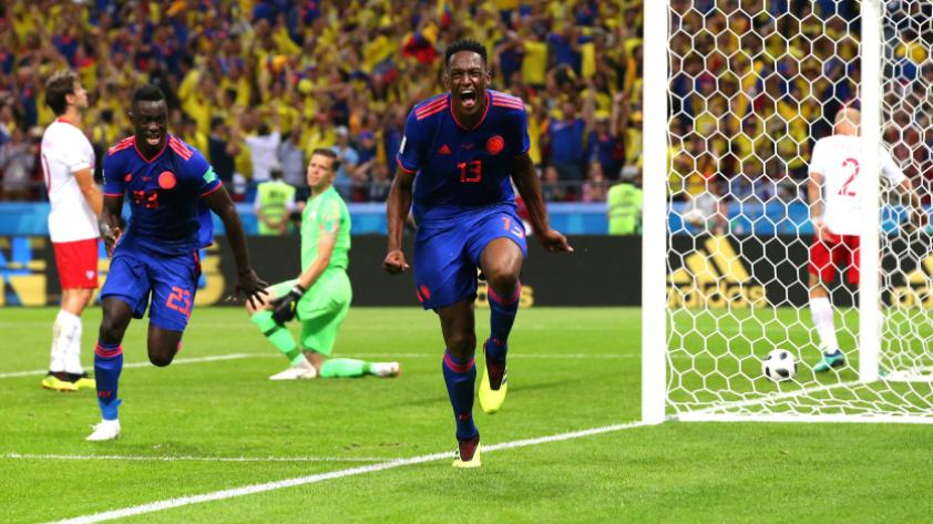 Yerry Mina la clave en Colombia para derrotar a Senegal, según la FIFA