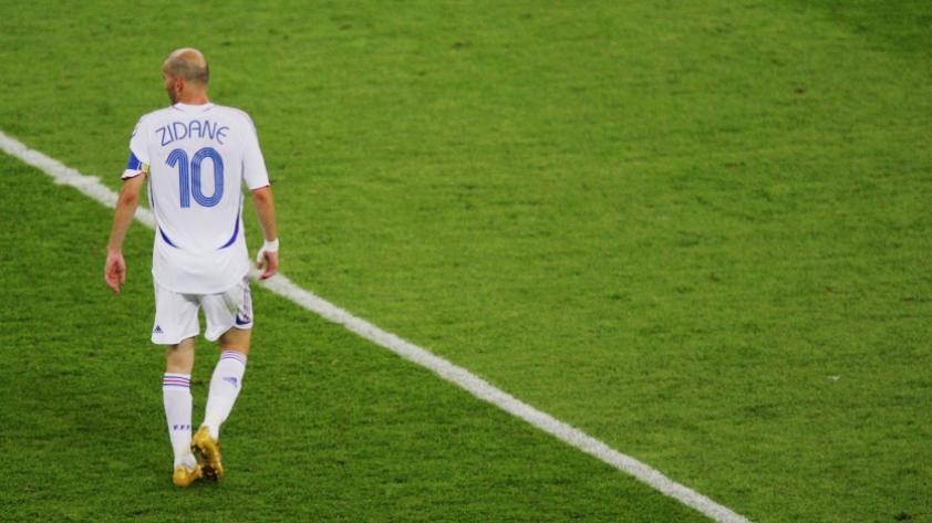 A 12 años de la expulsión de Zidane