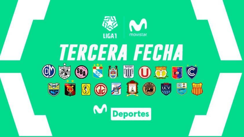 Liga 1 Movistar: resultados, tabla de posiciones y programación de la fecha 3 del Torneo Apertura